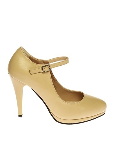 Limon Company Klasikadın Topuklu Ayakkabı Bej